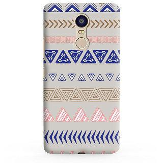 PrintVisa Multicolor Ethnic Design I Love Dad Designer Printed Hard Back Case For Redmi Note 4 - Multicolor