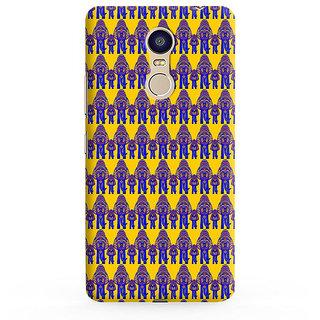 PrintVisa Multicolor Ethnic Design Designer Printed Hard Back Case For Redmi Note 4 - Multicolor