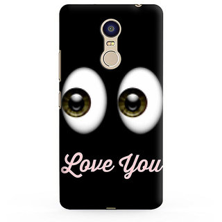 PrintVisa I want To BE In Your Arms Hold Never Let Me Go Love Designer Printed Hard Back Case For Redmi Note 4 - Multicolor