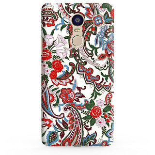 PrintVisa Flowers Theme Floral Love Lovely Gift Designer Printed Hard Back Case For Redmi 5 - Multicolor