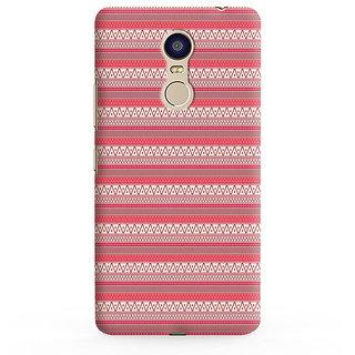 PrintVisa PinkLines Multipattern Designer Printed Hard Back Case For Redmi 5 - Multicolor
