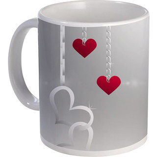 best hanging heart with chain design on