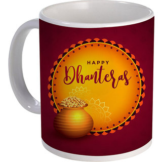 best happy dhanteras design with coins on