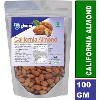 Glomin California Almond Raw 100Gm