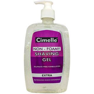 Cimelle Non- Foamy Shaving Gel Extra, 500ml