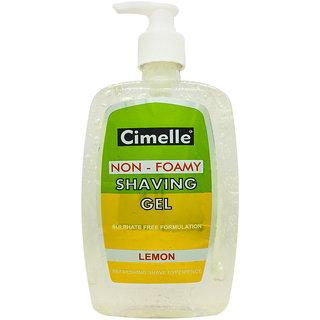Cimelle Non- Foamy Shaving Gel Lemon, 500ml
