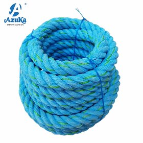 Azuka Ultimate Fitness Battle Black PP Ropes Ocean Blue Limited Edition (1.5 x 50 ft)