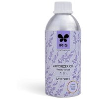 IRIS 1 Ltr. Reed Diffuser Oil in a Aluminium Can- Lavender stimulating, relaxing, calming