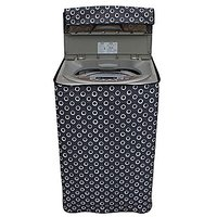 CASA-NEST Printed Washing machine cover For Haier Fully Automatic Top Load 5.8 kg Model