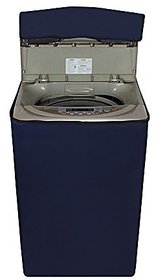 CASA-NEST Blue Washing machine cover For Haier Fully Automatic Top Load 5.8 kg