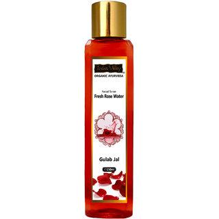 Indus Valley Organic Ayurveda Facial Toner Fresh Rose Water For Tightening Pores-250 ml