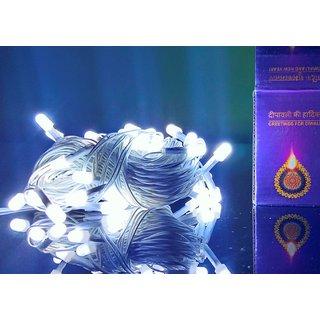 URO Diwali Decorative Light LED Light, 48 Bulbs, 50 Feet/15 m Long (Wired)