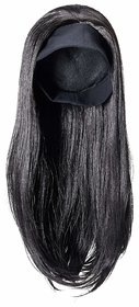 Sellers Destination  synthetic Long straight hair wig for women (size 32,Brown)