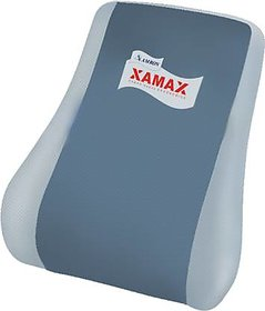 Xamax Executive Backrest,Lumbar Support Pillow/Back Cushion,Orthopedic Back rest for Car Seat,Office/Computer Chair