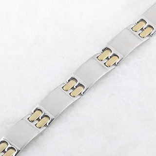 SILVERSHINE silverplated Funky Bracelet for Men and Boys Jewellery