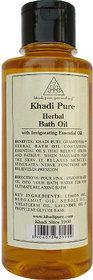 Khadi Pure Herbal Bath Oil - 210ml