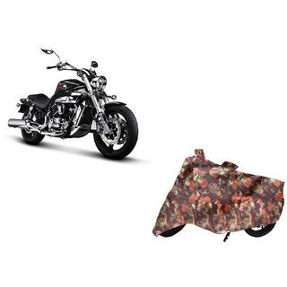 Anlope Army print (1X1) Bike Body Cover For  Hyosung Aquila Pro