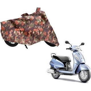Anlope Army print (1X1) Bike Body Cover For  Suzuki Access 125