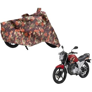 Anlope Army print (1X1) Bike Body Cover For  Yamaha SS 125