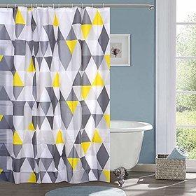 CASA-NEST PVC Waterproof Designer 7 feet Shower Curtain (1 Pcs)