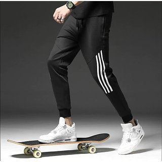 Trendyz Men's White Trackpants