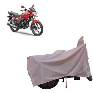 Anlope PINK (4X4) Bike Body Cover For Hero Passion Plus