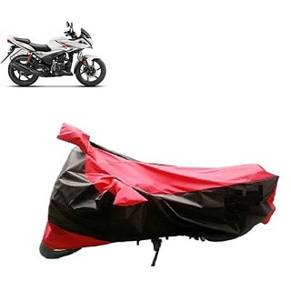 Anlope RED AND BLUE Bike Body Cover For Hero Ignitor