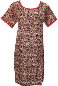 K T COLLECTION COTTON MATERNITY FEEDING KURTI WITH HORIZONTAL ZIPPERS KTMTRN87