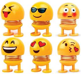Tantra Kids Toys Emoji Shaking Head Doll for Car
