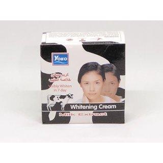 Yoko Whitening Cream Milk Extract 4 G Pack Of 2