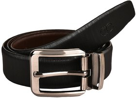 Amicraft Lining Casual  Formal Genuine Leather Reversible  Men's Belt (Size 28-44 Cut To Fit Men's Belt)