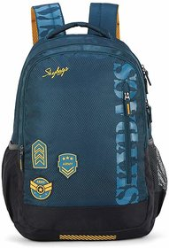 Skybags Bingo Extra 35.5005 Ltrs Blue School Backpack
