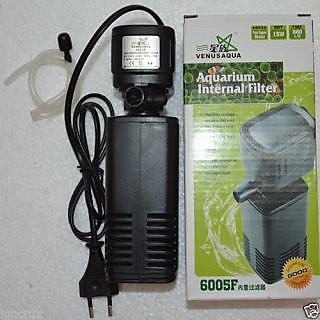 AQUARIUM FISH TANK VENUS AQUA INTERNAL POWER FILTER (6005F) AF008092