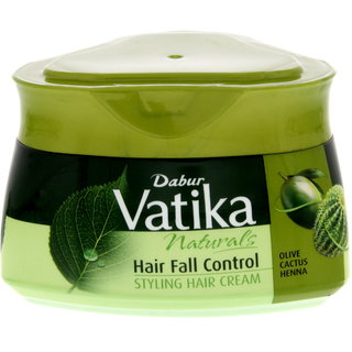 Imported Vatika Naturals Hair Fall Control Hair Styling Cream - 140 GM (Made in Europe)