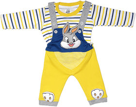 The Sandbox Clothing Co Yellow Casual  Dungaree