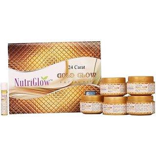 NutriGlow 24 Carat Gold Glow Facial Kit 250g