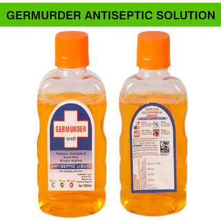 Nicholas Germurder  Medical  and Personal hygiene  Antiseptic  Solution/ Cleaner for Home -1000 ml