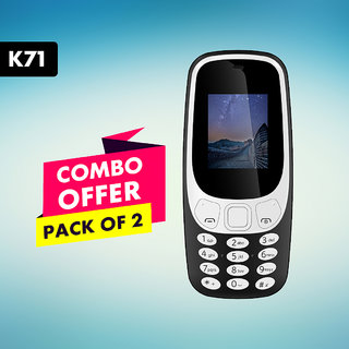 I Kall K71 Single SIM 18 inch Without Camera Pack of 2