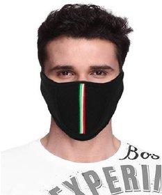 Liboni Care Black Bike Riding Pollution Face Mask for Men  Women (D15)