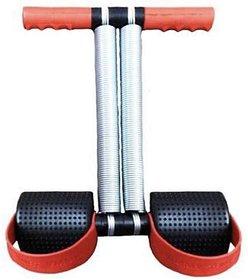 Liboni Black Red Tummy Trimmer Double Spring Full Body Fitness Equipment Ab Exerciser for Men  Women