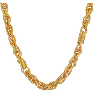 MissMister Gold Plated Bar and Thick Linked Fashion Chain Men Latest