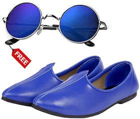 Vitoria Stylish Mens Jutti With Free Sunglasses