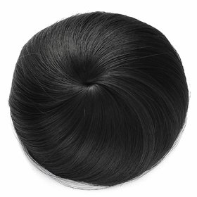 BUYERS CHAIN Black Hair Donut Bun