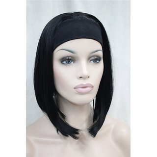 BUYERS CHAIN Synthetic Bob Hair Wigs For Women(size 14,black)