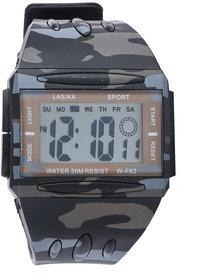Lasika W-F62 Camouflage Multifunction Sports Watch - SW006