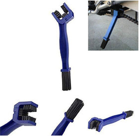 Ramanta Bike / Motorcycle / Cycle Chain Cleaner Brush Blue for all Universal For Bike bikes