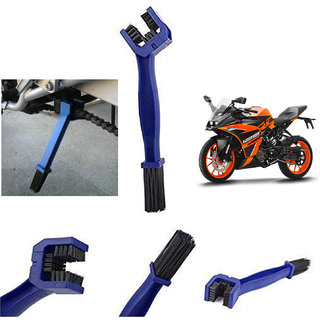 Ramanta Bike / Motorcycle / Cycle Chain Cleaner Brush Blue for all KTM bikes