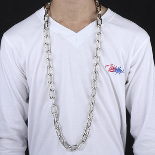 SILVERSHINE SilverPlated Designer lock Chain For Men and boy Jewellery