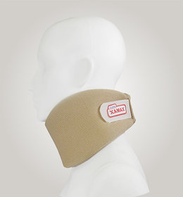 Xamax Cervical Collar For Neck Pain - Neck Brace For Neck Pain Relief - Neck Collar After Whiplash or Injury, Made Of Soft Cotton -(Small)