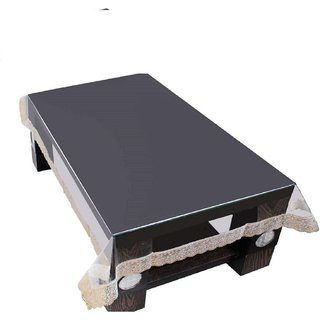 CASA-NEST Waterproof 4 Seater Dining Clear Table Cover